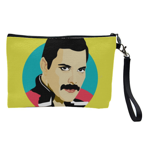 Freddie Mercury - pretty makeup bag by SABI KOZ