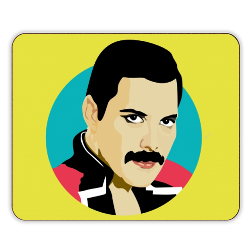 Freddie Mercury - photo placemat by SABI KOZ