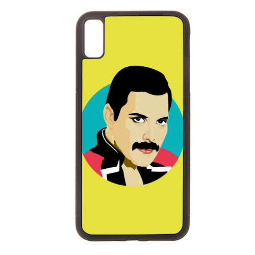 Freddie Mercury - Rubber phone case by SABI KOZ