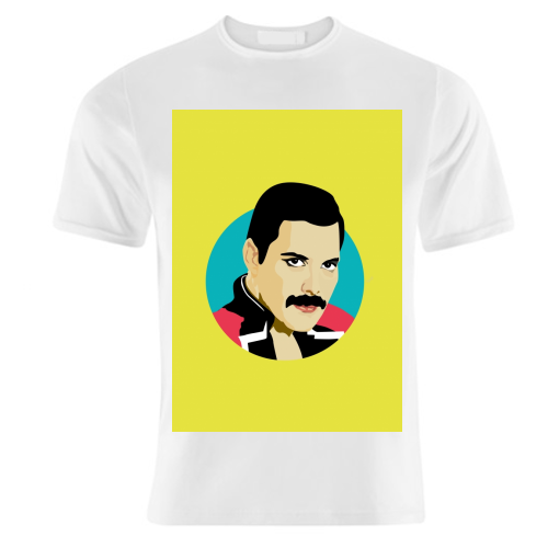 Freddie Mercury - unique t shirt by SABI KOZ