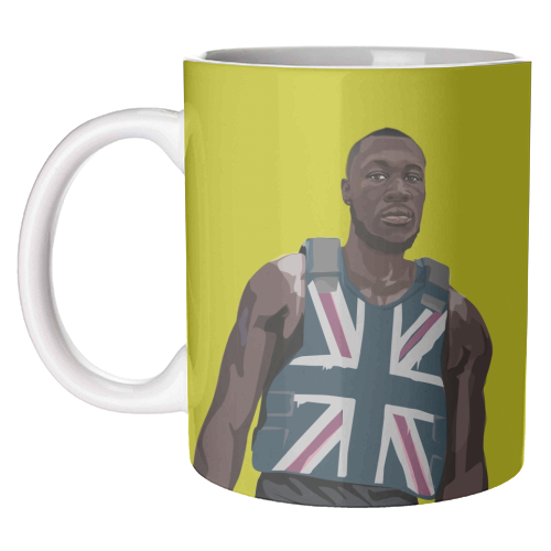 Stormzy - unique mug by SABI KOZ