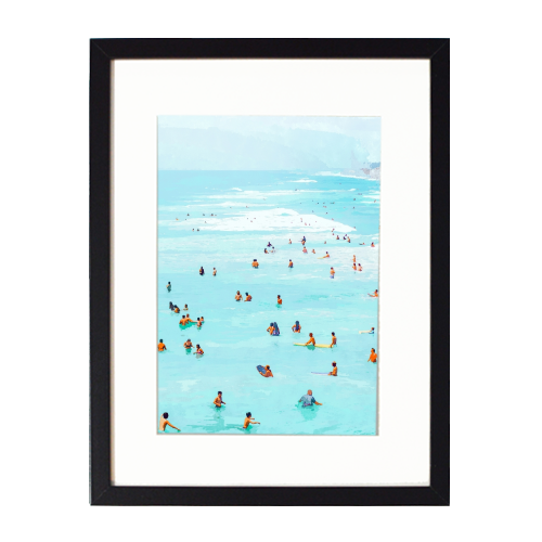 Hot Summer Day - printed framed picture by Uma Prabhakar Gokhale