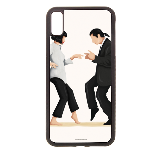 Pulp Fiction - Rubber phone case by Nour Tohme