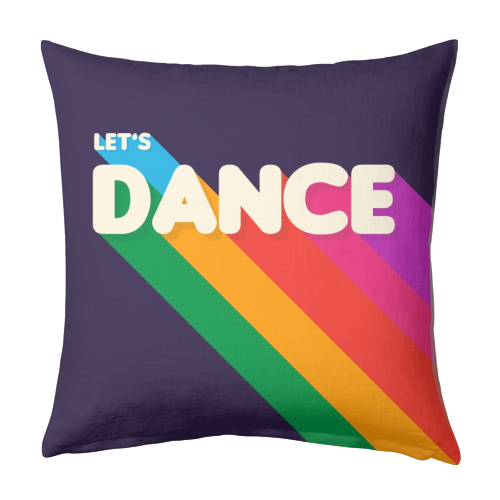 "LET""S DANCE - designed cushion by Ania Wieclaw"