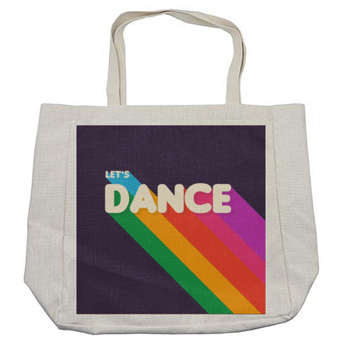"LET""S DANCE - cool beach bag by Ania Wieclaw"