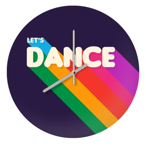 "LET""S DANCE - creative clock by Ania Wieclaw"