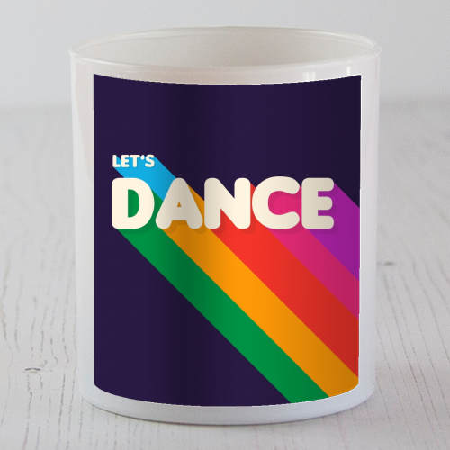 "LET""S DANCE - Candle by Ania Wieclaw"