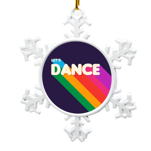 "LET""S DANCE - snowflake decoration by Ania Wieclaw"