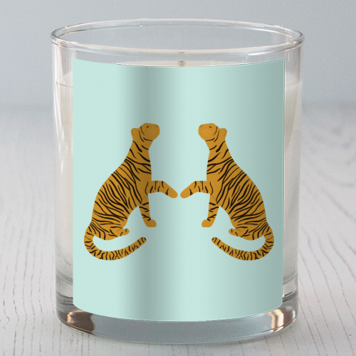 Mirrored Tigers - Candle by Ella Seymour