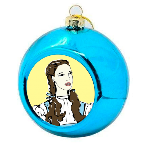 Judy - colourful christmas bauble by Bec Broomhall