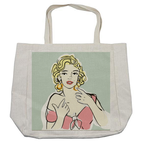 Marilyn - cool beach bag by Bec Broomhall