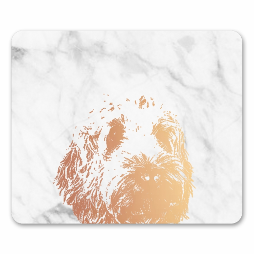 COCKAPOO - personalised mouse mat by Wallace Elizabeth