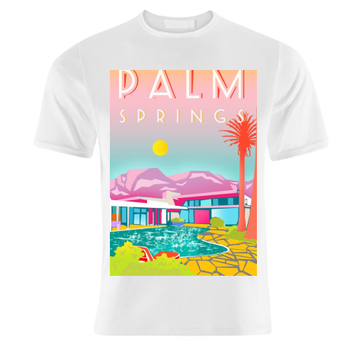 PALM SPRINGS - unique t shirt by Wallace Elizabeth