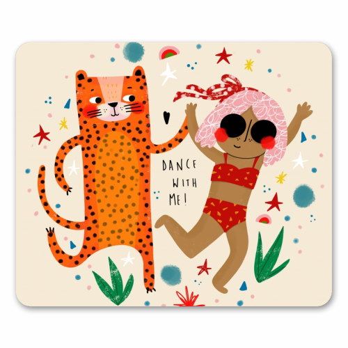 DANCE WITH ME - personalised mouse mat by Nichola Cowdery