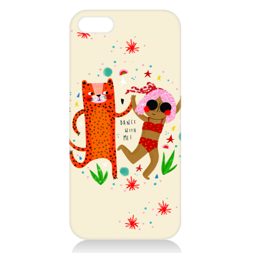 DANCE WITH ME - unique phone case by Nichola Cowdery