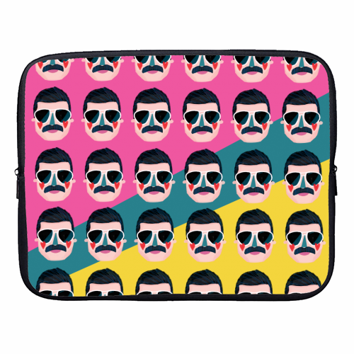 FAVOURITE QUEEN - designer laptop sleeve by Nichola Cowdery