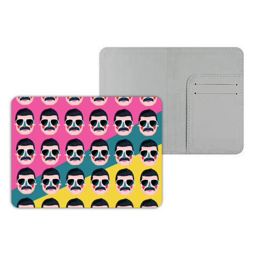 FAVOURITE QUEEN - designer passport cover by Nichola Cowdery