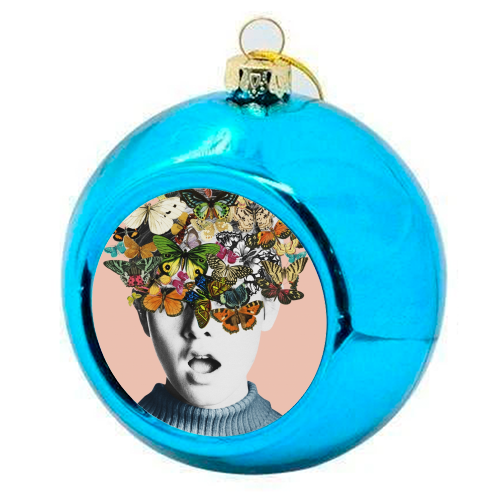 Twiggy Surprise (Pink) - colourful christmas bauble by Desirée Feldmann