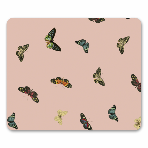Twiggy Surprise (Pink) - personalised mouse mat by Desirée Feldmann