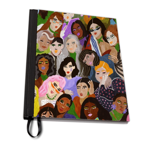 Women's Day - designed notebook by Ana Clerici