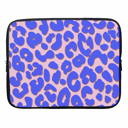 Cheetah Print - designer laptop sleeve by Brutus & Barbie