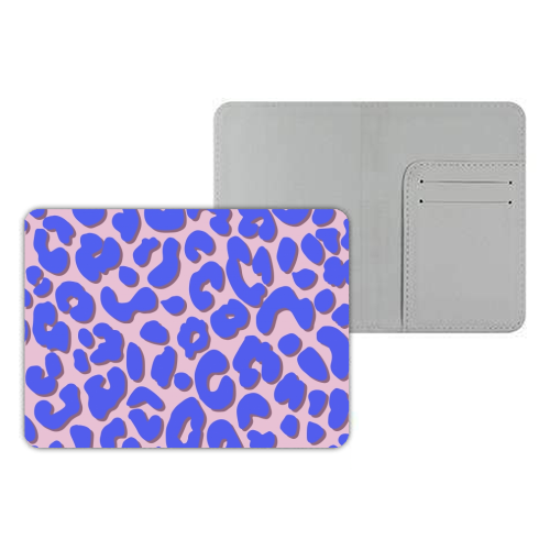 Cheetah Print - designer passport cover by Brutus & Barbie
