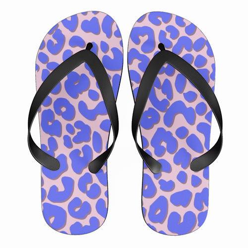 Cheetah Print - funny flip flops by Brutus & Barbie