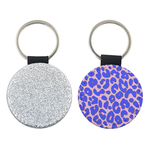Cheetah Print - personalised picture keyring by Brutus & Barbie