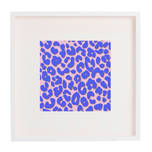 Cheetah Print - printed framed picture by Brutus & Barbie