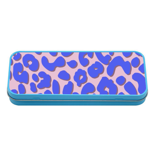 Cheetah Print - tin pencil case by Brutus & Barbie