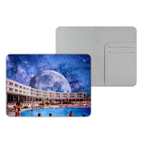 Galactic Pool - designer passport cover by taudalpoi