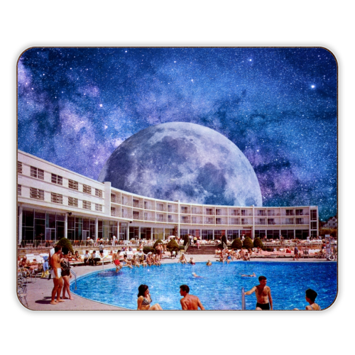 Galactic Pool - photo placemat by taudalpoi