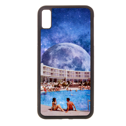 Galactic Pool - Rubber phone case by taudalpoi