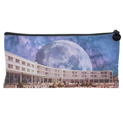 Galactic Pool - unique pencil case by taudalpoi