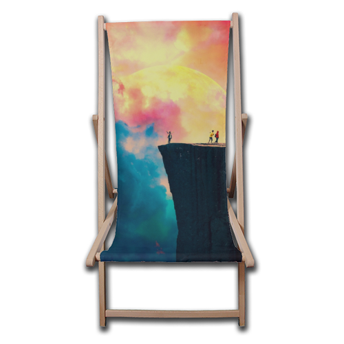 Preikestolen - canvas deck chair by taudalpoi