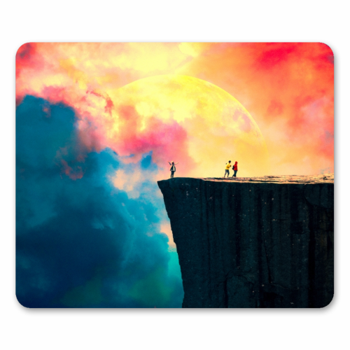 Preikestolen - personalised mouse mat by taudalpoi