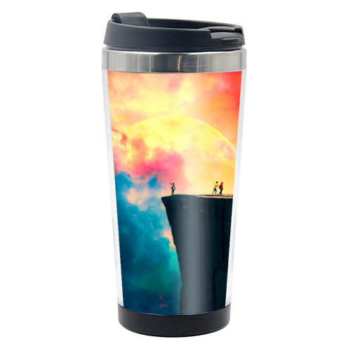 Preikestolen - travel water bottle by taudalpoi