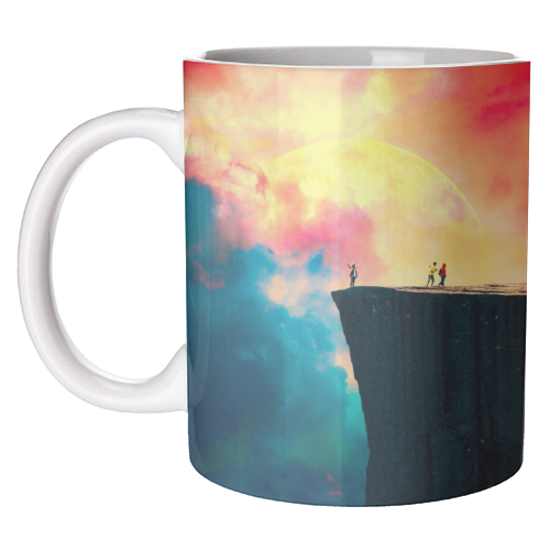 Preikestolen - unique mug by taudalpoi