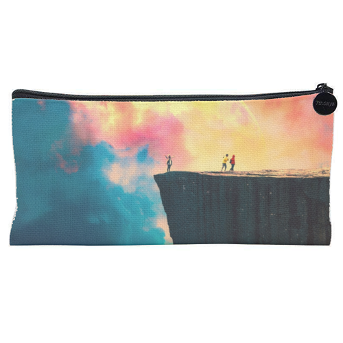 Preikestolen - unique pencil case by taudalpoi