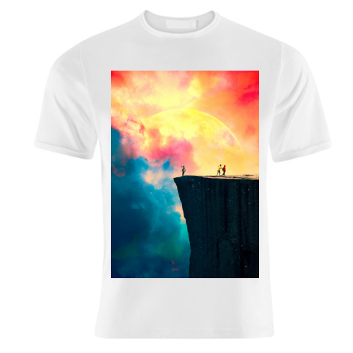 Preikestolen - unique t shirt by taudalpoi