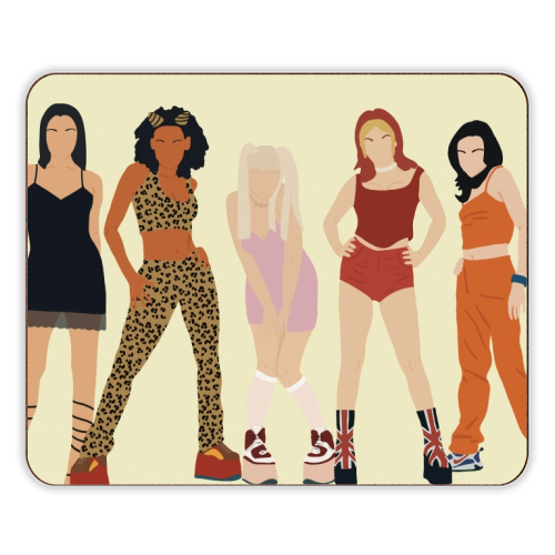 Spice Girls - photo placemat by Cheryl Boland