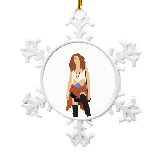Vivian - snowflake decoration by Cheryl Boland