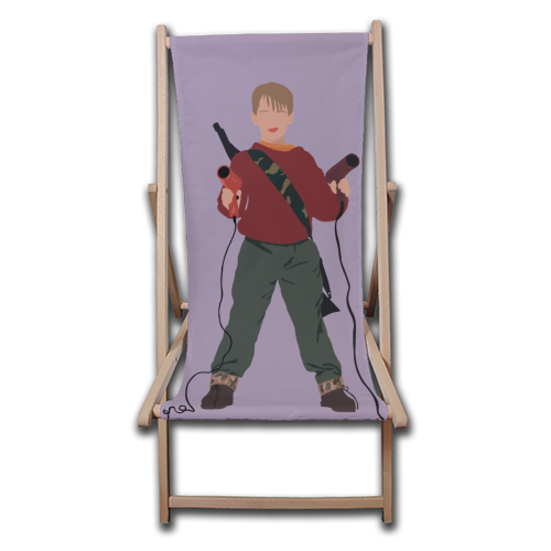 Kevin McCallister - canvas deck chair by Cheryl Boland