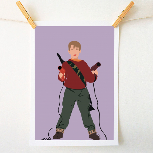 Kevin McCallister - original print by Cheryl Boland
