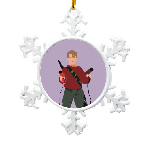 Kevin McCallister - snowflake decoration by Cheryl Boland