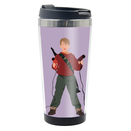 Kevin McCallister - travel water bottle by Cheryl Boland