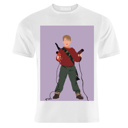Kevin McCallister - unique t shirt by Cheryl Boland