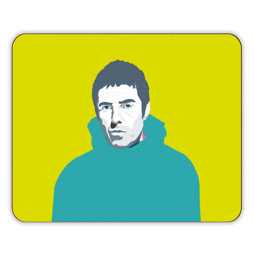 Liam Gallagher Oasis Wonderwall British Music Artist Rocker - photo placemat by SABI KOZ