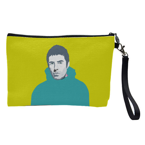 Liam Gallagher Oasis Wonderwall British Music Artist Rocker - pretty makeup bag by SABI KOZ