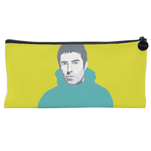Liam Gallagher Oasis Wonderwall British Music Artist Rocker - unique pencil case by SABI KOZ